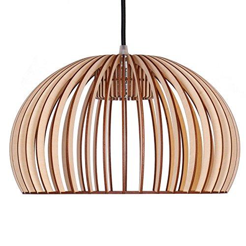 pendelleuchte aus holz moderne designer deckenleuchte viele farben erh ltlich natur m bel24. Black Bedroom Furniture Sets. Home Design Ideas