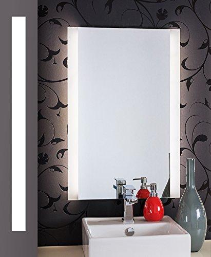 Bricode Süd® LED Badspiegel Persis (B) Badezimmerspiegel in verschiedenen größen mit LED Beleuchtung 50cm x 75cm (breite x höhe) Neutralweiß