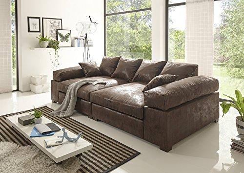 BIG Sofa -Vintage Braun - Modell Hercules Cyber Monday Verlängerungsaktion