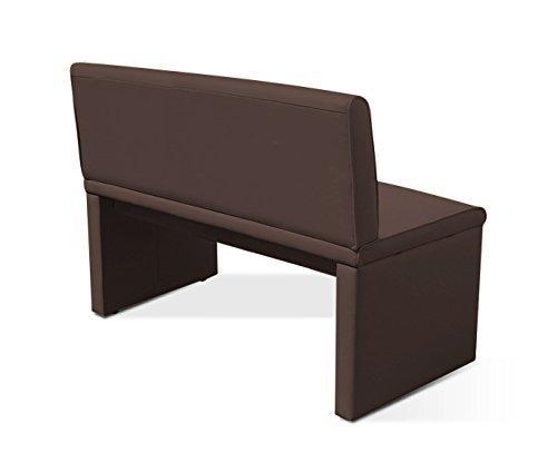 sam esszimmer sitzbank family brown in braun 100 cm breite sitzbank mit pflegeleichtem. Black Bedroom Furniture Sets. Home Design Ideas