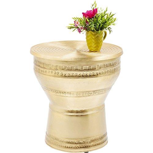 Kare 81172 Couchtisch Cleopatra Möbel, Metall, gold, 36 x 50 x 53 cm