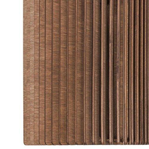 Hängeleuchte PIPA - Pendelleuchte aus Holz - Moderne Designer Hängeleuchte - viele Farben erhältlich Weiss