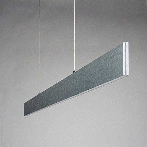 licht trend slim led h ngeleuchte 2730 lumen dimmbar alu matt esstischlampe 4 m bel24. Black Bedroom Furniture Sets. Home Design Ideas