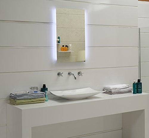 Led Design Lichtspiegel Badspiegel Wandspiegel: Design Badspiegel Mit LED-Beleuchtung GS043N Lichtspiegel
