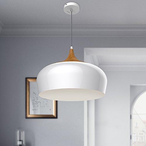 tomons pendelleuchte im modernen minimalistischen stil deckenleuchte in holzoptik e27 max. Black Bedroom Furniture Sets. Home Design Ideas