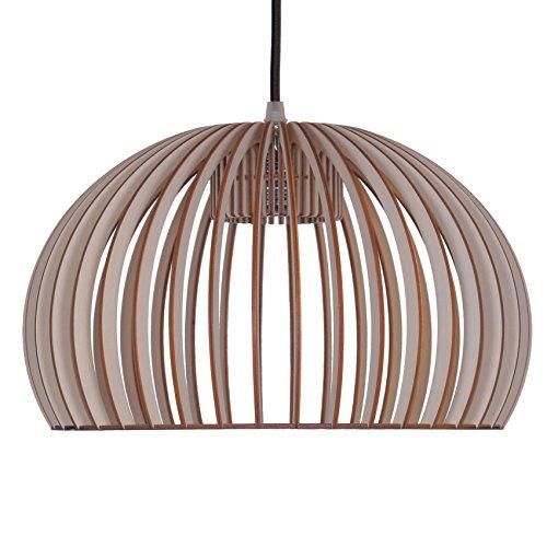pendelleuchte aus holz moderne designer deckenleuchte viele farben erh ltlich taupe m bel24. Black Bedroom Furniture Sets. Home Design Ideas
