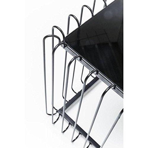 Kare 82721 Couchtisch Wire Rectangular Black
