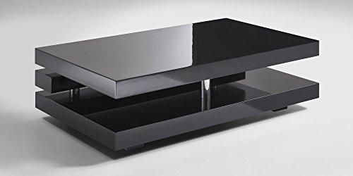 couchtisch schwarz hochglanz ancona 120x70cm wohnzimmertisch m bel24. Black Bedroom Furniture Sets. Home Design Ideas