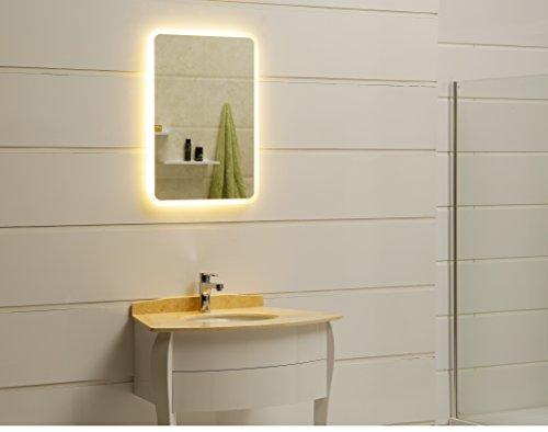 dr fleischmann modernes lichtspiegel wandspiegel badspiegel gs045n mit led beleuchtung ip44 50. Black Bedroom Furniture Sets. Home Design Ideas