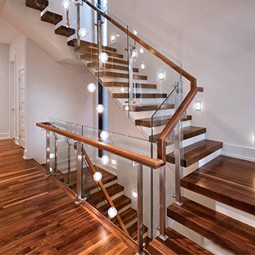 kjlars pendelleuchte led moderne pendellampe h ngeleuchte h heverstellbar kronleuchter geeignet. Black Bedroom Furniture Sets. Home Design Ideas