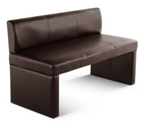 SAM® Sitzbank Toulouse 126 cm in braun komplett bezogen