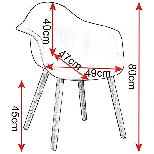 woltu bh37mf 2 esszimmerst hle 2er set esszimmerstuhl mit lehne design stuhl k chenstuhl holz. Black Bedroom Furniture Sets. Home Design Ideas