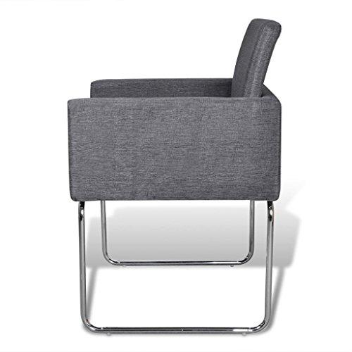 2x Esszimmerstuhl Stuhl Stühle Polsterstuhl Küchenstuhl Stuhlgruppe Armlehnen