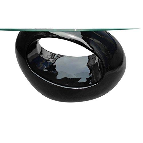 """vidaXL Couchtisch """"RISING DESIGN GLAS Wohnzimmertisch Beistelltisch Glastisch 240319"""