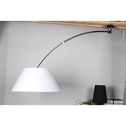licht trend bogey verstellbare deckenleuchte mit schirm 55 cm weiss m bel24. Black Bedroom Furniture Sets. Home Design Ideas