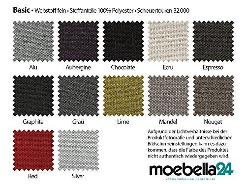 Polsterecke Wohnlandschaft Sofa SPIKE Mit Schlaffunktion und Bettkasten Ecksofa Kunstleder Webstoff Schlafsofa