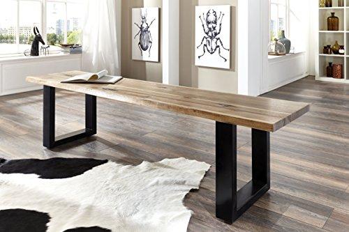 sam stilvolle sitzbank imker aus akazie holz bank mit. Black Bedroom Furniture Sets. Home Design Ideas