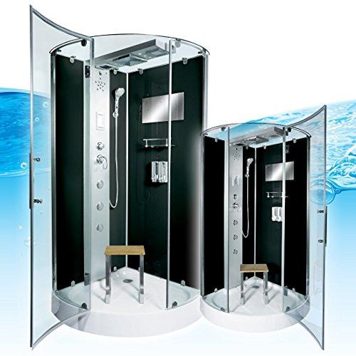 AcquaVapore DTP6037-2302 Dusche Dampfdusche Duschtempel Duschkabine 100x100
