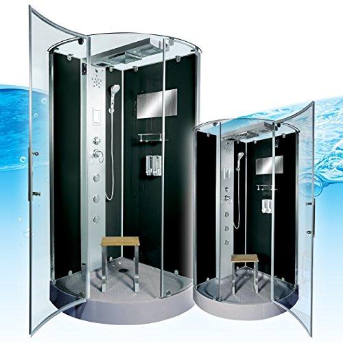AcquaVapore DTP6037-4302 Dusche Dampfdusche Duschtempel Duschkabine 100x100