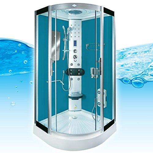 AcquaVapore DTP8046-1102 Dusche Dampfdusche Duschtempel Duschkabine 90x90