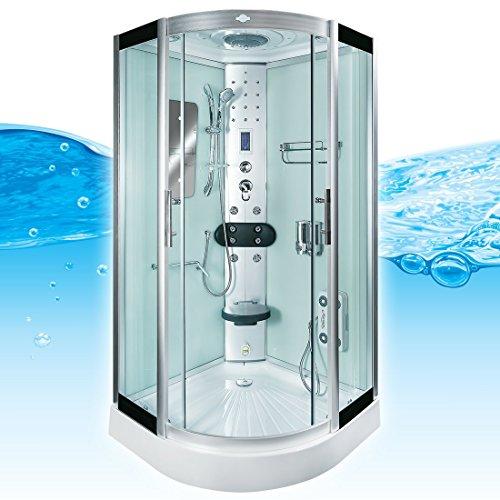 AcquaVapore DTP8046-2002 Dusche Dampfdusche Duschtempel Duschkabine 100x100