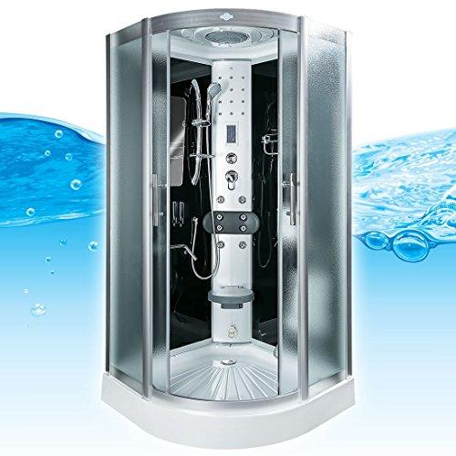 AcquaVapore DTP8046-2312 Dusche Dampfdusche Duschtempel Duschkabine 100x100