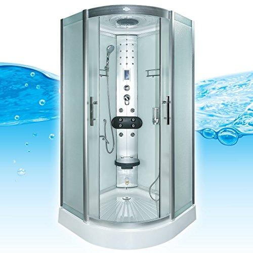 AcquaVapore DTP8058-1012 Dusche Dampfdusche Duschtempel Duschkabine 90x90