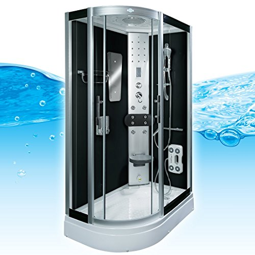 AcquaVapore DTP8060-7302L Dusche Dampfdusche Duschtempel Duschkabine 120x80
