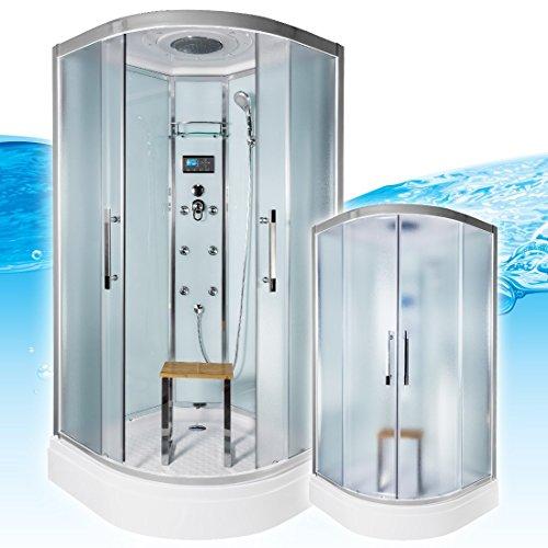 acquavapore quick26 0013 dusche dampfdusche komplette duschkabine th 80x80 0 m bel24. Black Bedroom Furniture Sets. Home Design Ideas