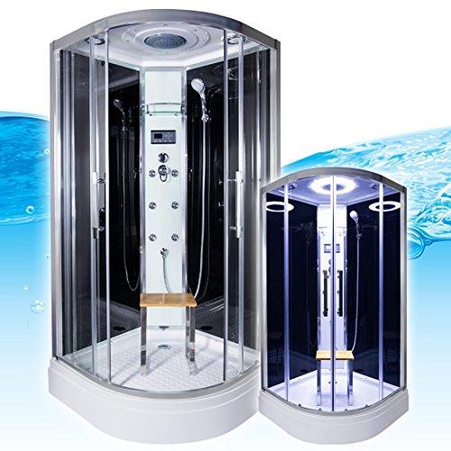 acquavapore quick26 0302 dusche dampfdusche komplette duschkabine 80x80 0 m bel24. Black Bedroom Furniture Sets. Home Design Ideas