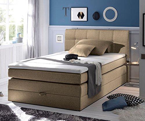 bett neptuno sand 140x200 cm matratze topper federkern bettkasten boxspringbett m bel24. Black Bedroom Furniture Sets. Home Design Ideas