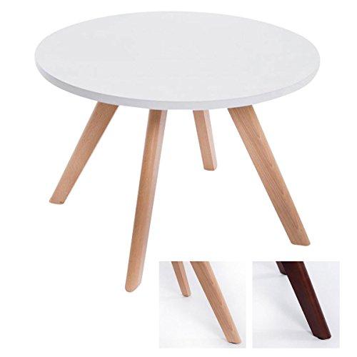 CLP Design Beistell-Tisch EIRIK, rund Ø 60 cm, Holz, Höhe ca. 45 cm,