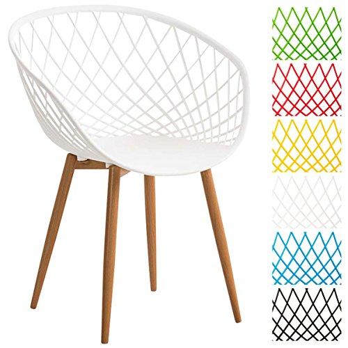 clp esszimmerstuhl mora mit kunststoff sitzschale wartezimmerstuhl retrostuhl besucherstuhl. Black Bedroom Furniture Sets. Home Design Ideas