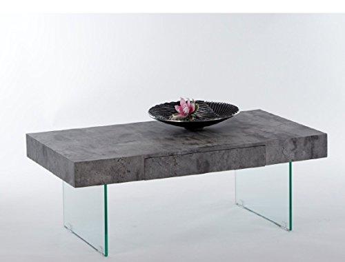 """Couchtisch """"DAISY"""" Beistelltisch Wohnzimmertisch Tisch in Beton Optik"""