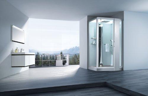 dampfdusche pisa wei dampf dusche duschkabine dampfbad duschtempel duschkabinett m bel24. Black Bedroom Furniture Sets. Home Design Ideas