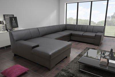 dreams4home polsterecke 39 negro iii 39 ecksofa mit. Black Bedroom Furniture Sets. Home Design Ideas