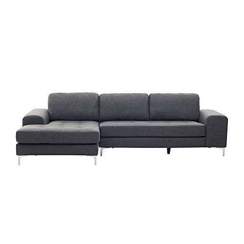 ecksofa polsterbezug dunkelgrau kiruna m bel24. Black Bedroom Furniture Sets. Home Design Ideas