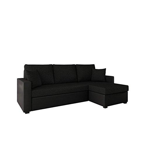 Ecksofa mit Schlaffunktion und Bettkasten Picanto Lux! Maße: 224x144 cm, Schlaffläche: 200x130 cm, Sofa Eckcouch Couch Couchgarnitur Wohnlandschaft!
