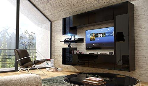 Future 13 moderne wohnwand exklusive mediam bel tv for Exklusive wohnwand