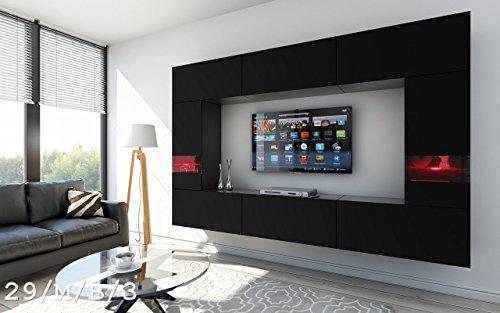 future 29 wohnwand anbauwand wand schrank tv schrank. Black Bedroom Furniture Sets. Home Design Ideas