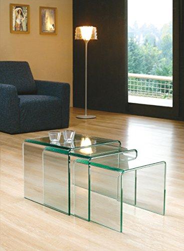 Glasmöbel - Couchtisch, Beistelltisch, Sideboard