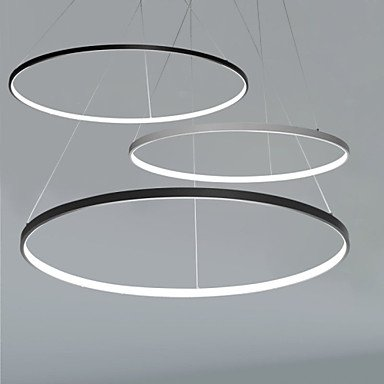 jj moderne led deckenleuchten 40w pendelleuchte moderne deckenleuchte design led ring 220v 240. Black Bedroom Furniture Sets. Home Design Ideas