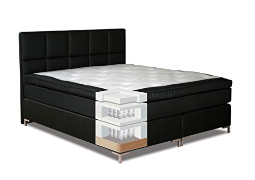 boxspringbett moala box taschenfederkern matratze 7 zonen taschenfederkern top matress. Black Bedroom Furniture Sets. Home Design Ideas