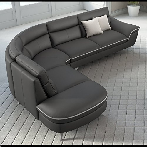 leder ecksofa eckgarnitur eckcouch couchgarnitur rundsofa rundcouch sitzecke m bel24. Black Bedroom Furniture Sets. Home Design Ideas