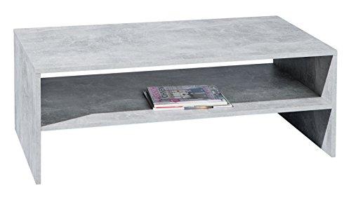 Links 19603200 Couchtisch, melaminharzbeschichtete Flachpressplatte, betondekor, 115 x 60 x 41 cm