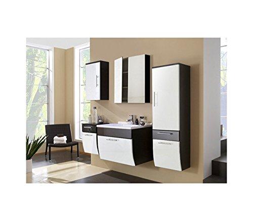 sam design badm bel set salona 5b in wei anthrazit 5 teilig beckenauswahl m gliche. Black Bedroom Furniture Sets. Home Design Ideas