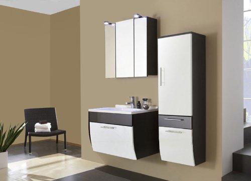 sam design badm bel set santana in wei anthrazit 3 teilig mit beckenauswahl m gliche. Black Bedroom Furniture Sets. Home Design Ideas