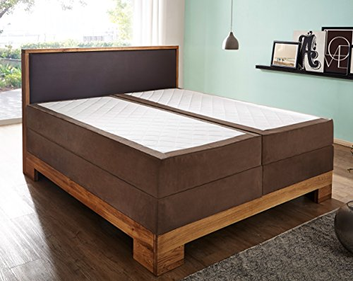sam design boxspringbett sirin box mit holzrahmen und. Black Bedroom Furniture Sets. Home Design Ideas