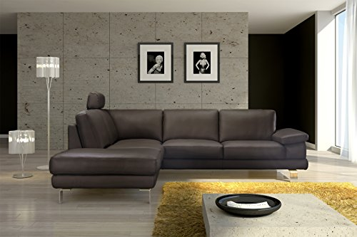 sam design ecksofa mezzo in braun sofa 220 x 270 cm pflegeleicht modern kopfst tze kann. Black Bedroom Furniture Sets. Home Design Ideas