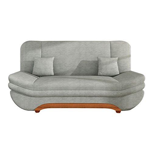 Sofa Weronika Smart mit Bettkasten und Schlaffunktion, große Farbauswahl, Schlafsofa, Couch vom Hersteller, Wohnlandschaft